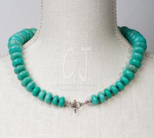 Turquoise is for Lovers - Chocker by Christina Jarmolinski