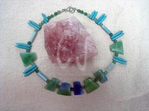 "Jade Delight II ""Art Jewelry"" by Christina Jarmolinski"