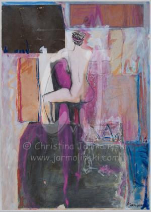 Nude in Pink by Christina Jarmolinski