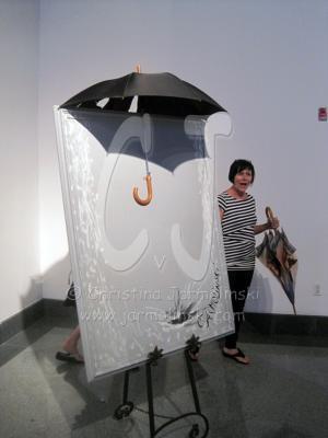 "Installation ""Rain"" at Sydney & Berne Davis Art Center, Fort Myers © Christina Jarmolinski"
