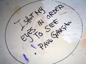 I shut my eyes in order to see P. Gaugin.............by Christina Jarmolinski