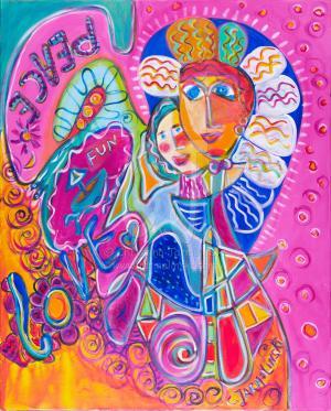 Peace and Love by Christina Jarmolinski
