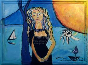 The Lady in the Black Dress by Christina Jarmolinski