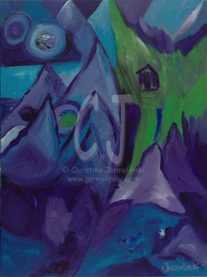 The Sacred Journey by Christina Jarmolinski