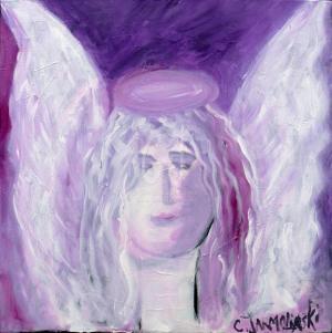 The Angel of Peace by Christina Jarmolinski