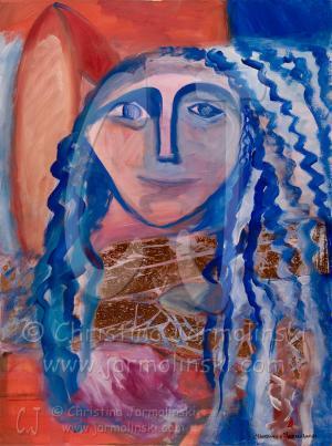 Blue Angel by Christina Jarmolinski