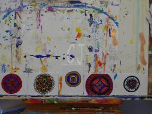Two  Mandalas by my students