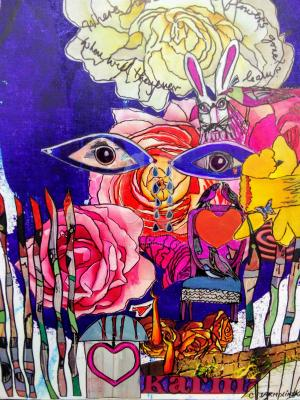 Where Have All the Flowers Gone? -Zen Art by Christina Jarmolinski