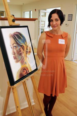 Judge Jess Cross Davis of Salisbury University - Prof. art, painting