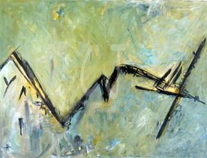 Ascension Abstract by Christina Jarmolinski