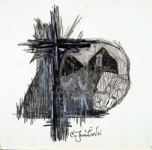 Golgatha I by Christina Jarmolinski