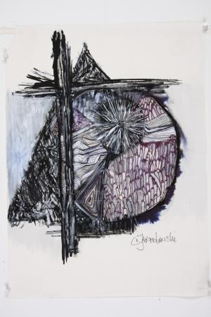 Golgatha II by Christina Jarmolinski