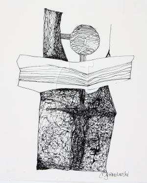 Golgatha IV by Christina Jarmolinski