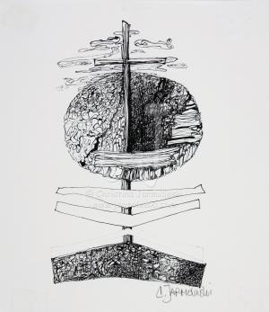 Golgatha V by Christina Jarmolinski