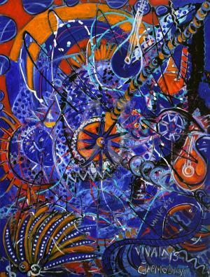 Vivaldi's Universe by Christina Jarmolinski -finished