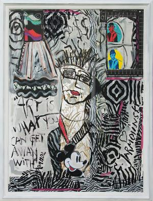 """""""ART is what you can get away with"""" Andy Warhol quote by Christina Jarmolinski"""