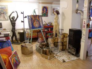 My Studio in the Malerhof