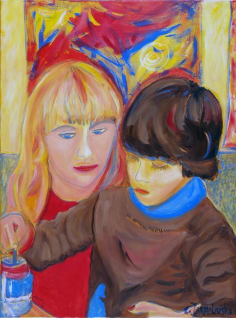 Mother and Son by Christina Jarmolinski