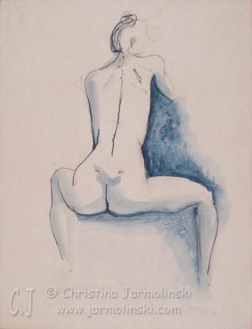 Nude Backside by Christina Jarmolinski