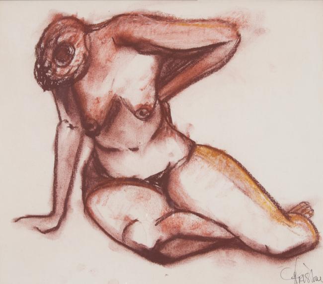 """""""Nude -Front """" by Christina Jarmolinski"""