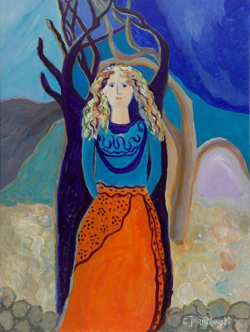 Rocks and Olive Trees by christina Jarmolinski