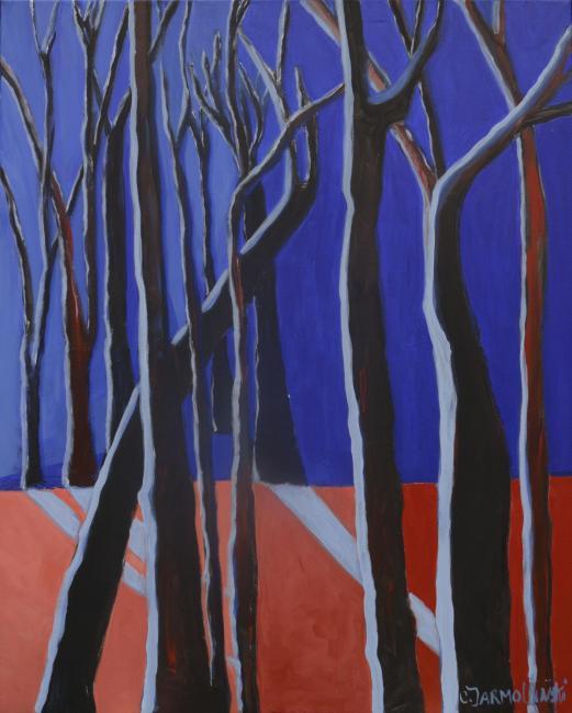 Trees in Winter by Christina Jarmolinski
