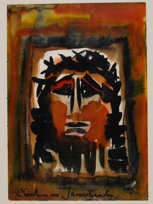 Jesus Crucified  - by Christina Jarmolinski