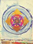 Go with the Light Within  Mandala- Zen Art  by Christina Jarmolinski