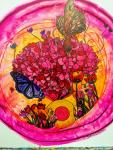 Flower Garden Mandala - Zen Art by Christina Jarmolinski