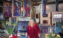 My Studio in Ft. Myers, FL. © Christina Jarmolinski