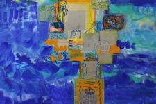 Island Breeze- Mixed Media by Christina Jarmolinski