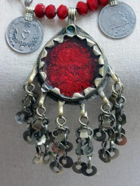 "Antique Indian Pendent ""ART JEWELRY""by Christina Jarmolinski"