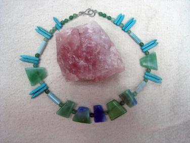 "Jade Delight II ""Art Jewelry"" by Christina Jarmolinski"