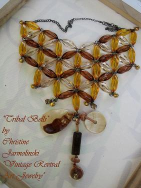 "Tribal Bells ""ART JEWELRY"" by Christina Jarmolinski"