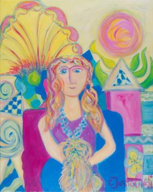 Lakshmi and Christina by Christina Jarmolinski