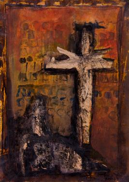 Crying Women under the Cross by Christina Jarmolinski