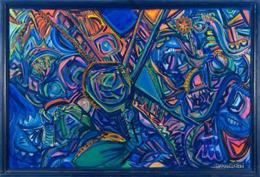 Fantasy of  World Unity II by Christina Jarmolinski