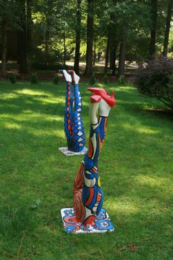 Funky Legs Installation  Pop Art by Christina Jarmolinski