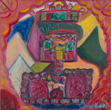 Freedom for Tibet by Christina Jarmolinski