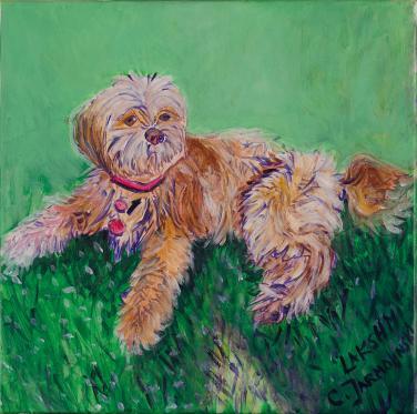 Lakshmi Puppy by Christina Jarmolinski