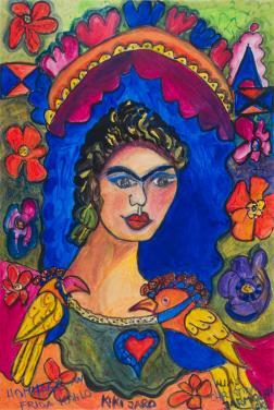 Frida Kahlo by Christina Jarmolinski