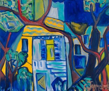 The Blue Window by Christina Jarmolinski