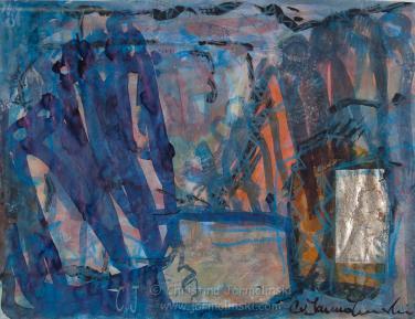 Sorrowful Meeting by Christina Jarmolinski