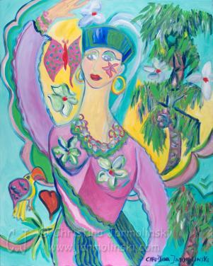 Alice in Wonderland by Christina Jarmolinski