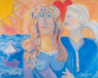 Lovers by Christina Jarmolinski