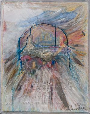 Crystal Mandala by Christina Jarmolinski