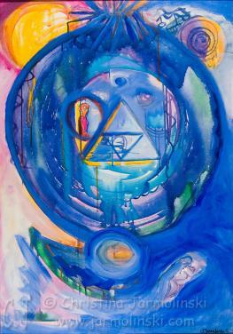 Vision of Indigo by Christina Jarmolinski