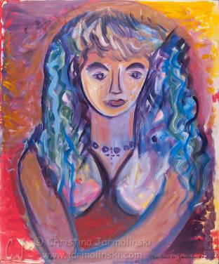 Girl in the Tropics by Christina Jarmolinski