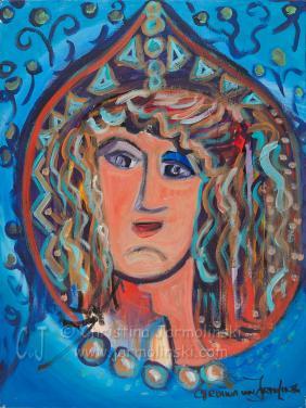 The Fortuneteller by Christina Jarmolinski