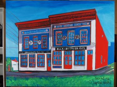 Belfast Maine by Christina Jarmolinski